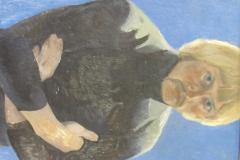 Автопортрет. 1979. К., м. 50х40